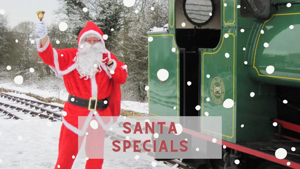 Santa Specials at Foxfield