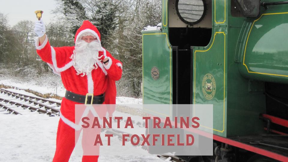 Santa Trains at Foxfield