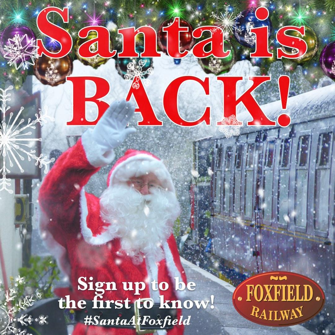 Santa at Foxfield